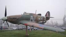 Z3427 - Royal Air Force Hawker Hurricane (replica) aircraft
