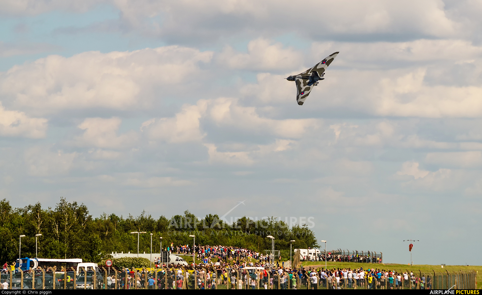 Vulcan to the Sky Trust XH558 aircraft at East Midlands