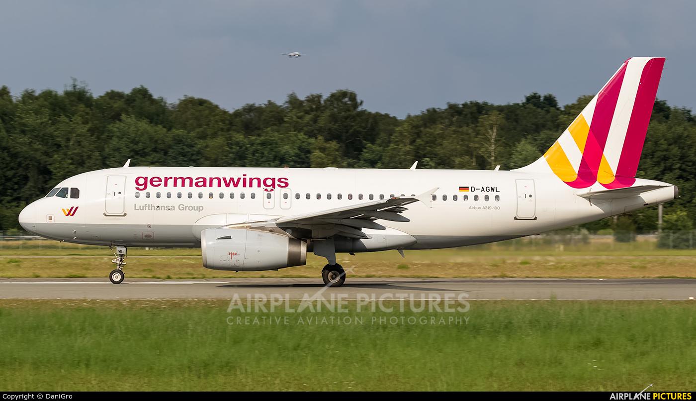 Germanwings D-AGWL aircraft at Hamburg - Fuhlsbüttel