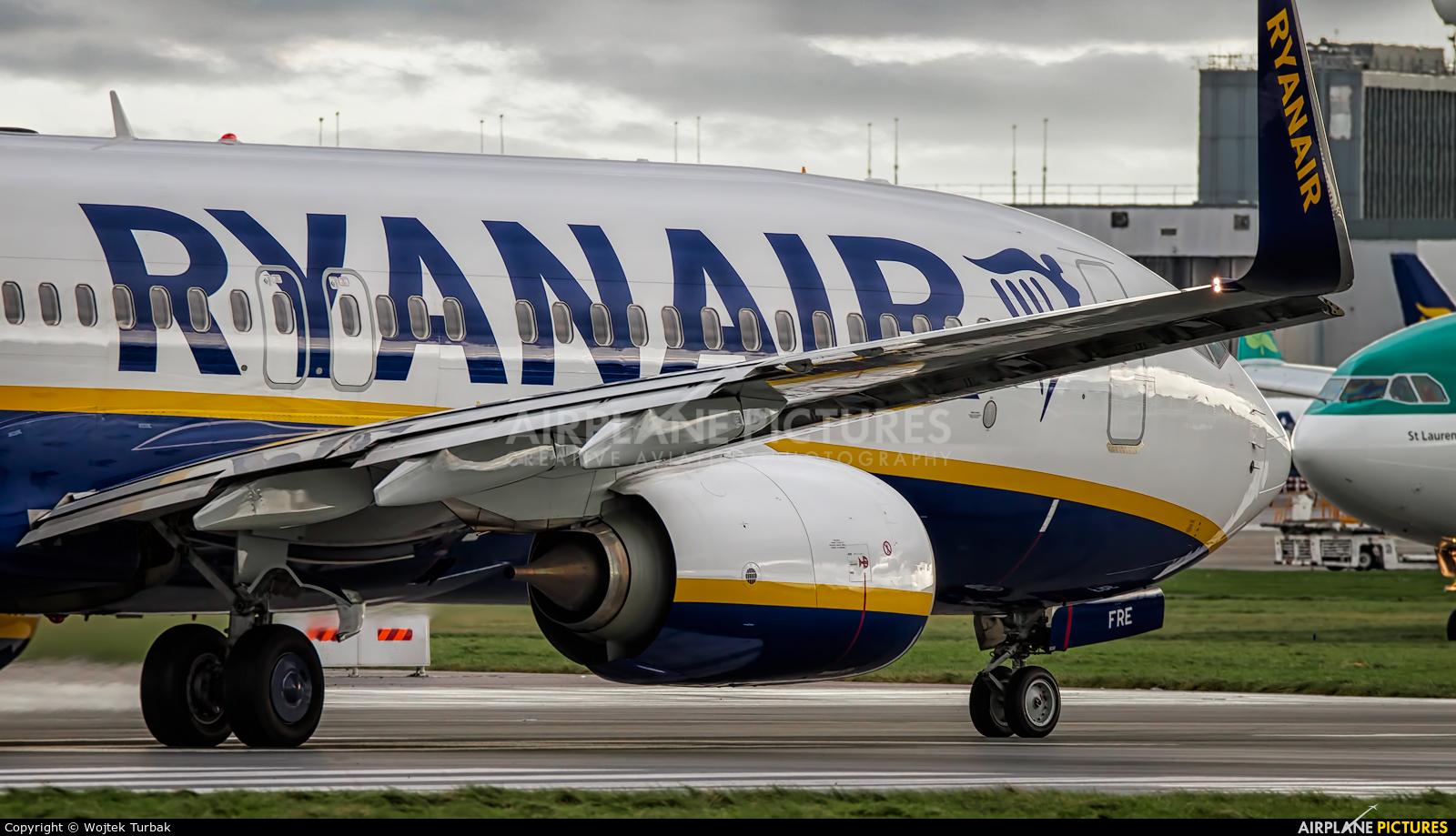 Ryanair EI-FRE aircraft at Dublin