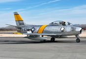 NX186AM - Air Museum Chino North American F-86F Sabre aircraft