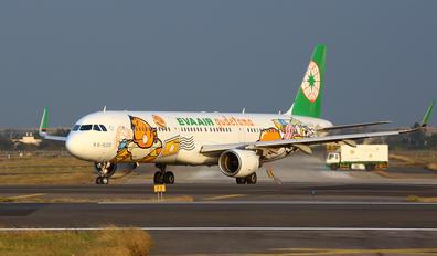 B-16205 - Eva Air Airbus A321