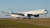 B-LRB - Cathay Pacific Airbus A350-900 aircraft