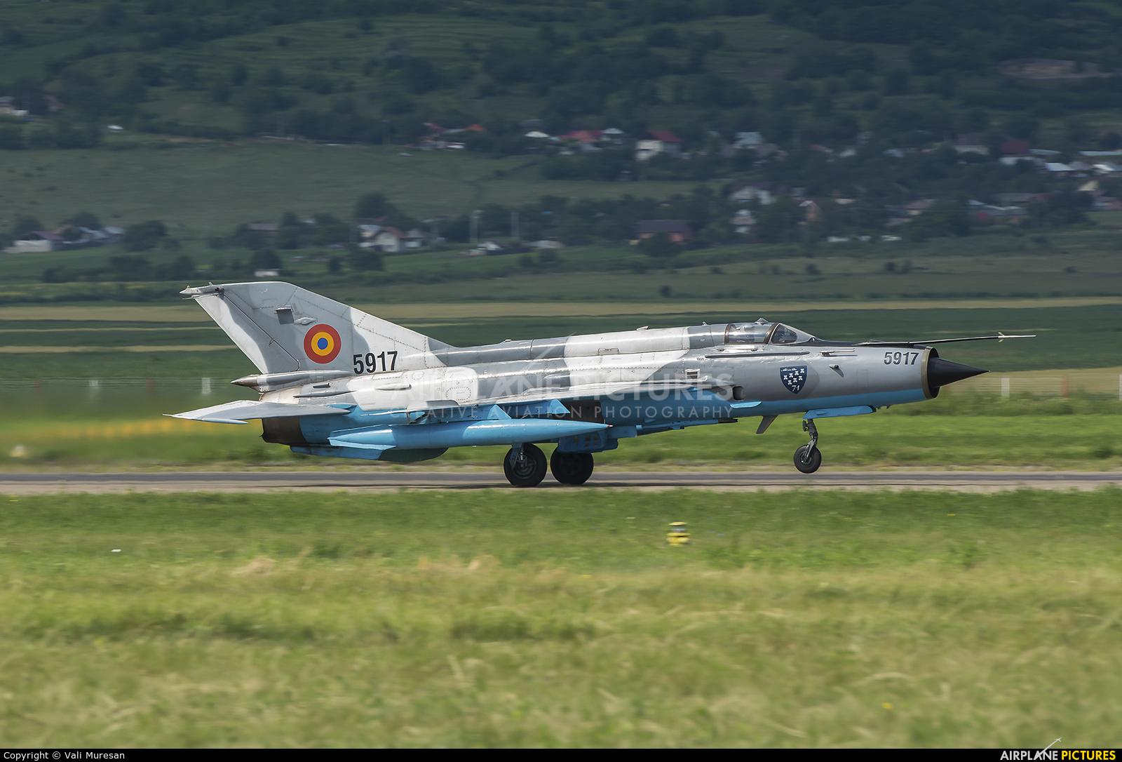 Romania - Air Force 5917 aircraft at Bacau