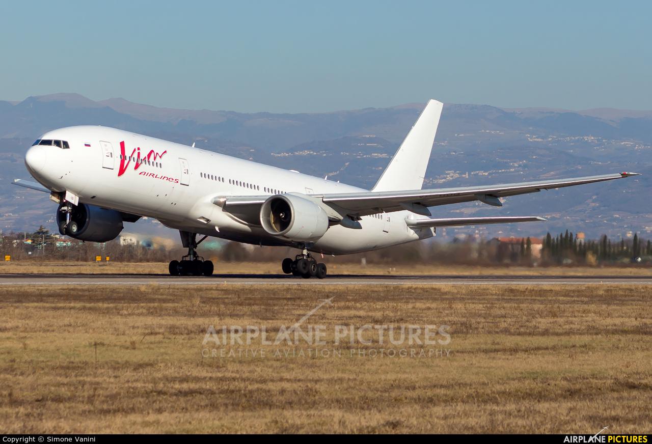 Vim Airlines VP-BDQ aircraft at Verona - Villafranca