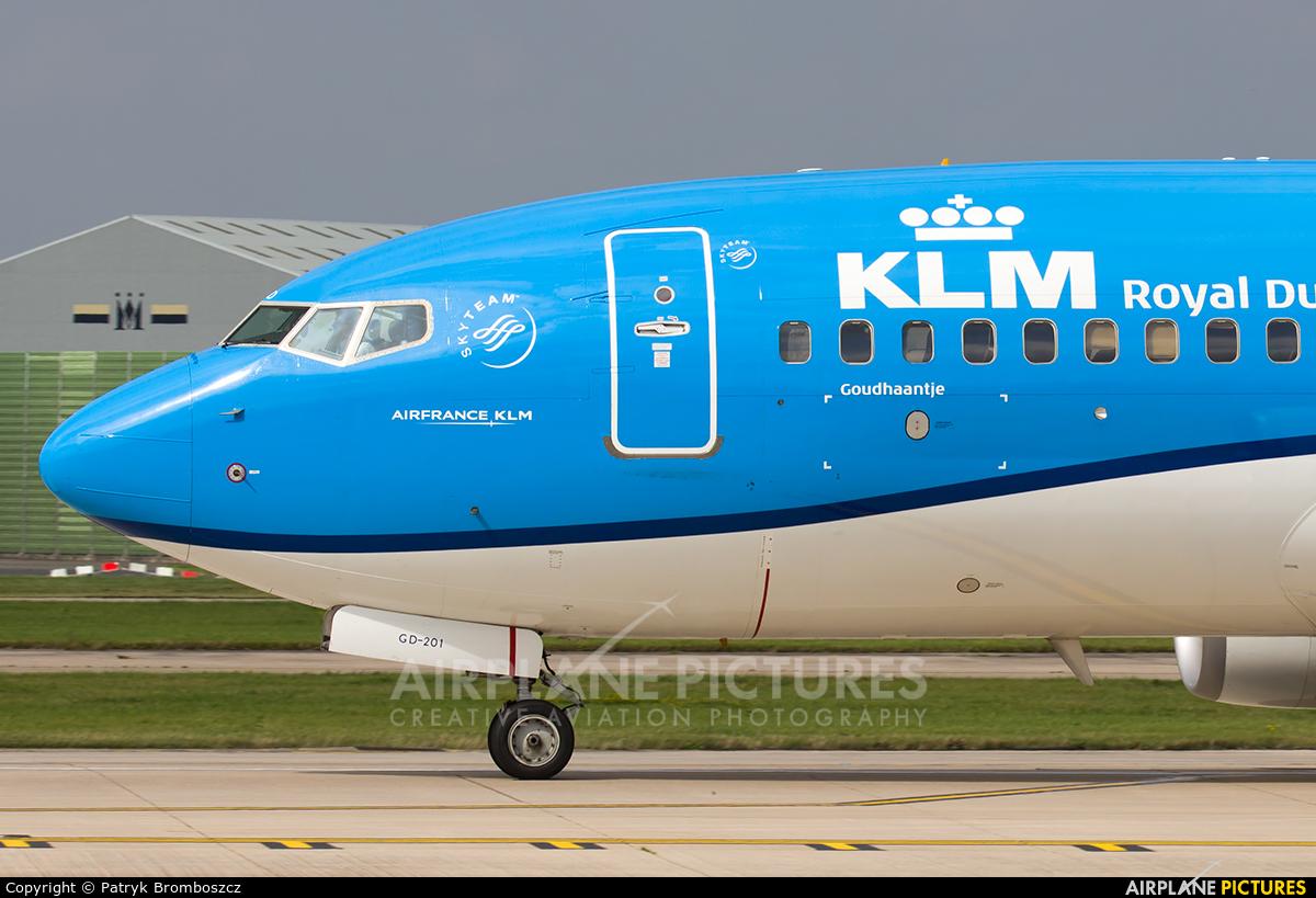 KLM PH-BGD aircraft at Manchester