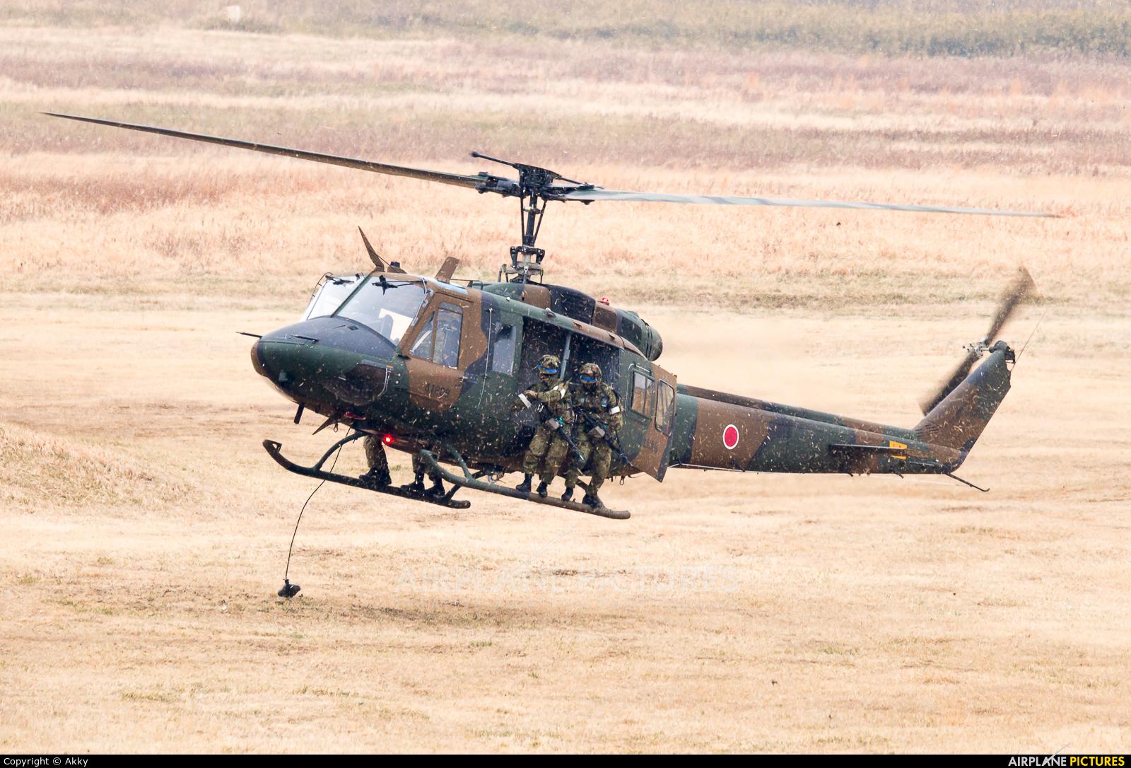 Japan - Ground Self Defense Force 41809 aircraft at Off Airport - Japan