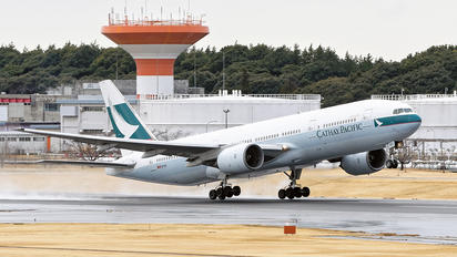 B-HNA - Cathay Pacific Boeing 777-200