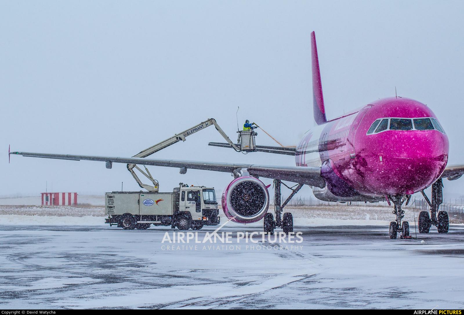 Wizz Air HA-LPT aircraft at Poprad - Tatry