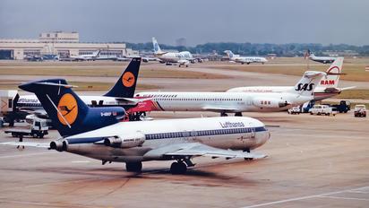 D-ABKP - Lufthansa Boeing 727-200