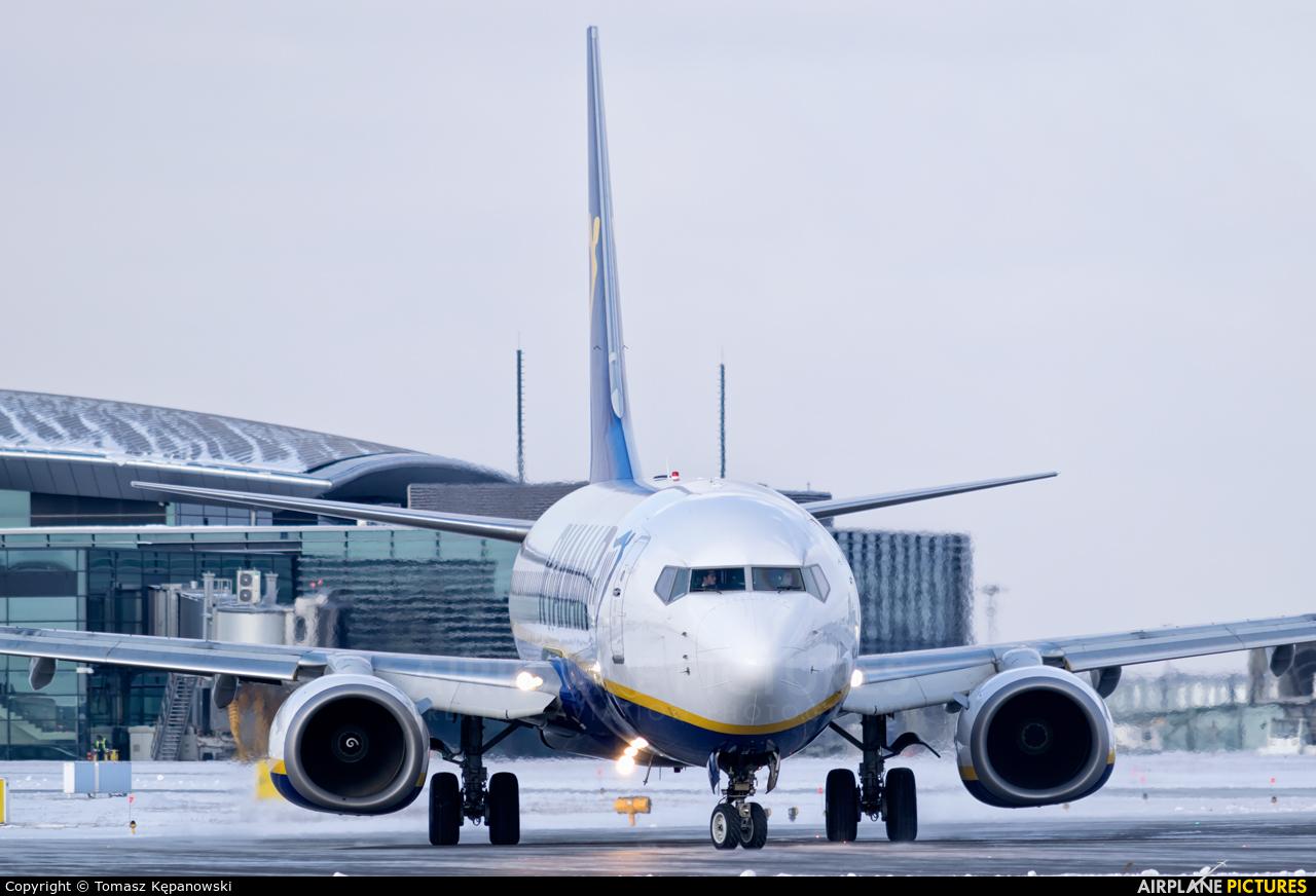 Ryanair EI-DPL aircraft at Rzeszów-Jasionka