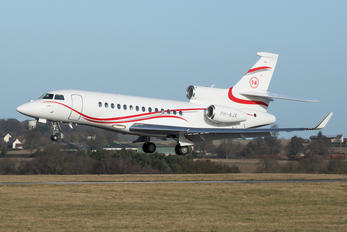 PH-AJX - Private Dassault Falcon 7X