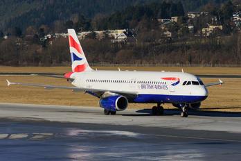 G-GATS - British Airways Airbus A320