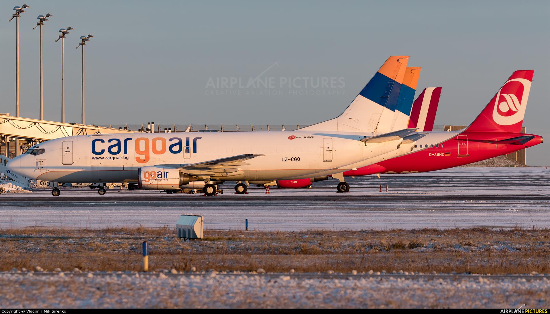 Cargo Air LZ-CGO aircraft at Leipzig - Halle