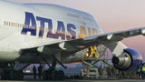 First ever Boeing 747 at Poznan airport