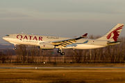 A7-AFJ - Qatar Airways Cargo Airbus A330-200F aircraft