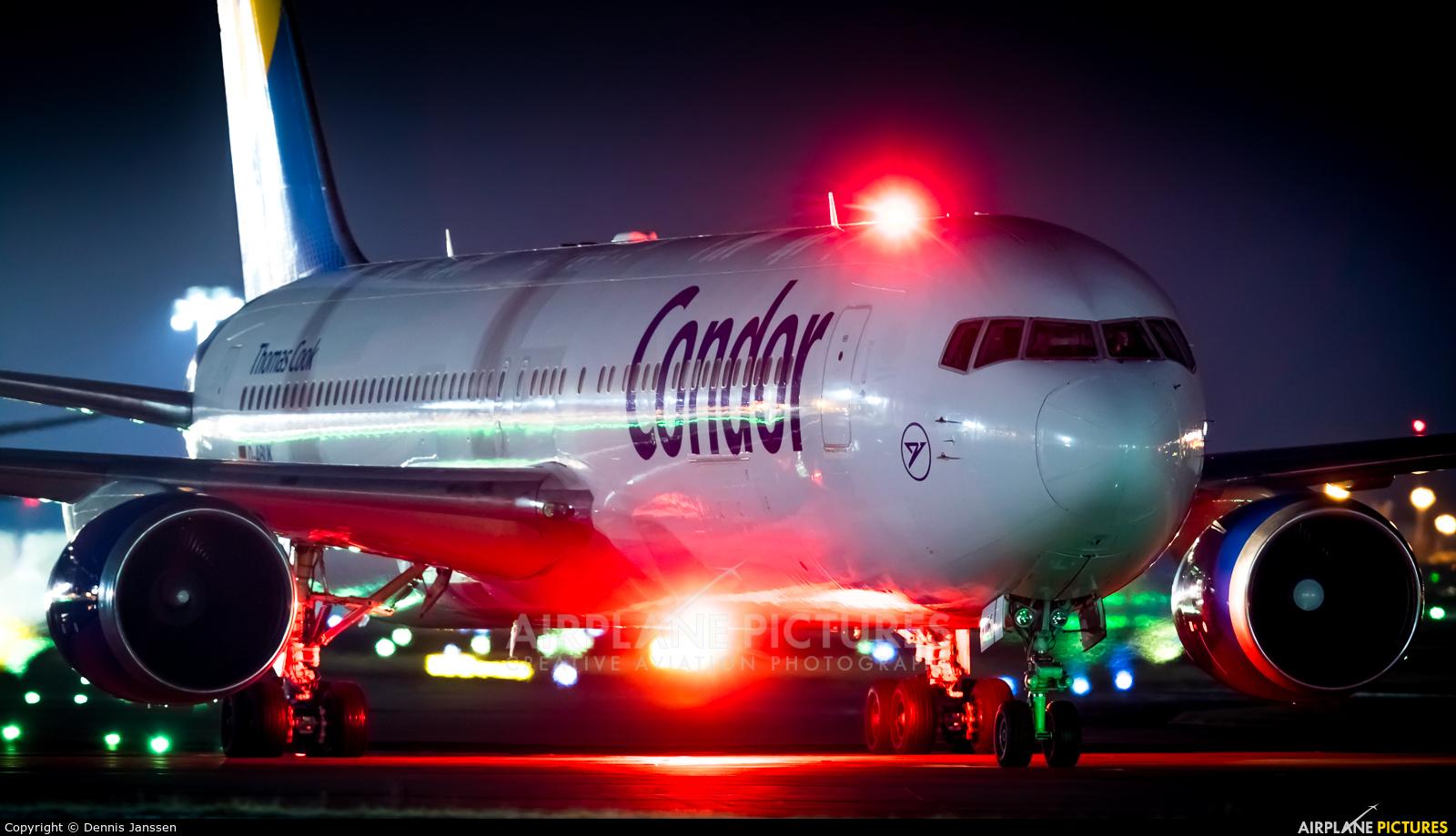 Condor D-ABUK aircraft at Frankfurt