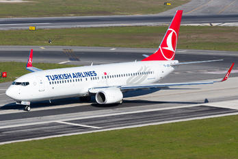 TC-JZG - Turkish Airlines Boeing 737-800