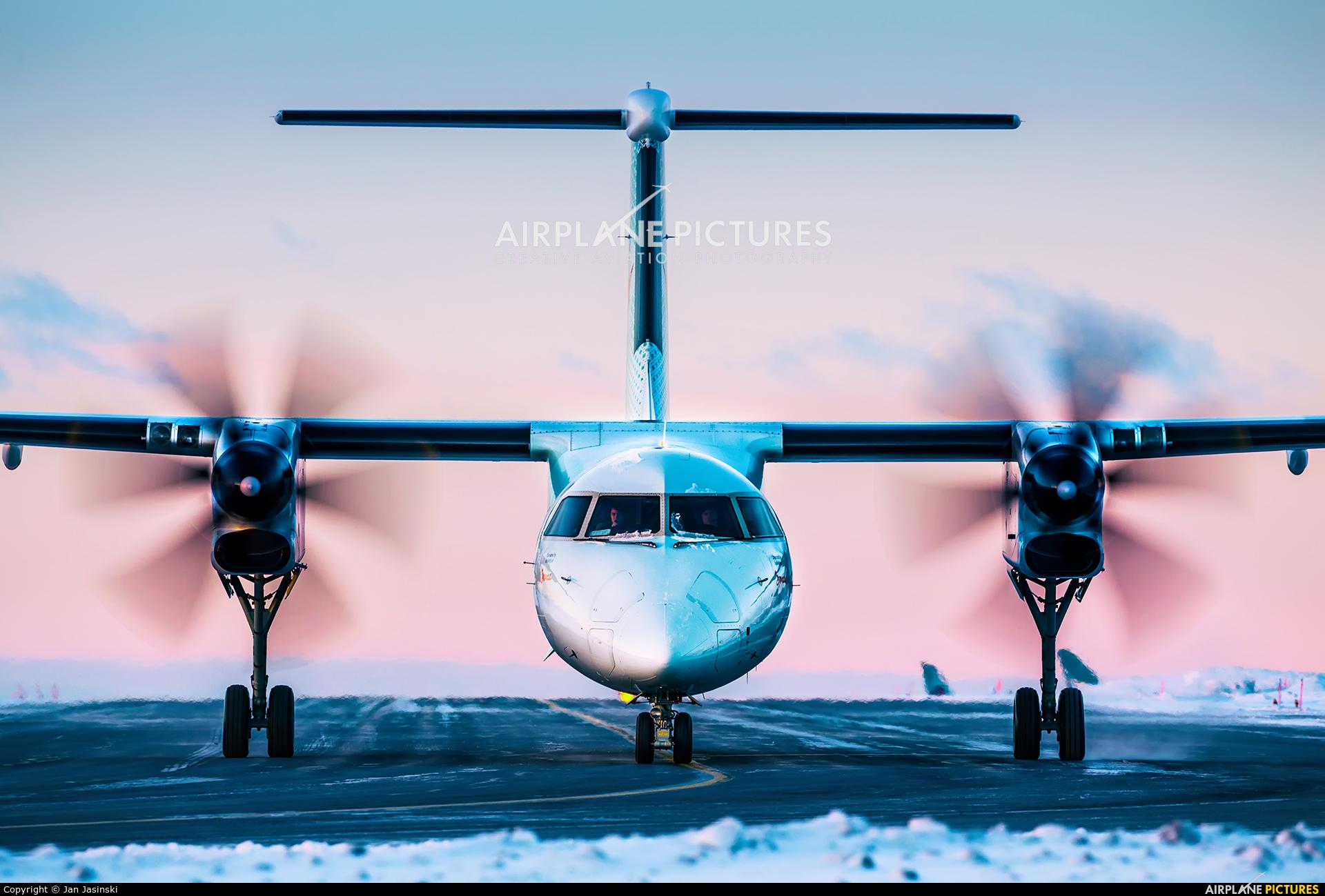 Air Canada Express C-GIJZ aircraft at Ottawa - Macdonald-Cartier Intl, ON