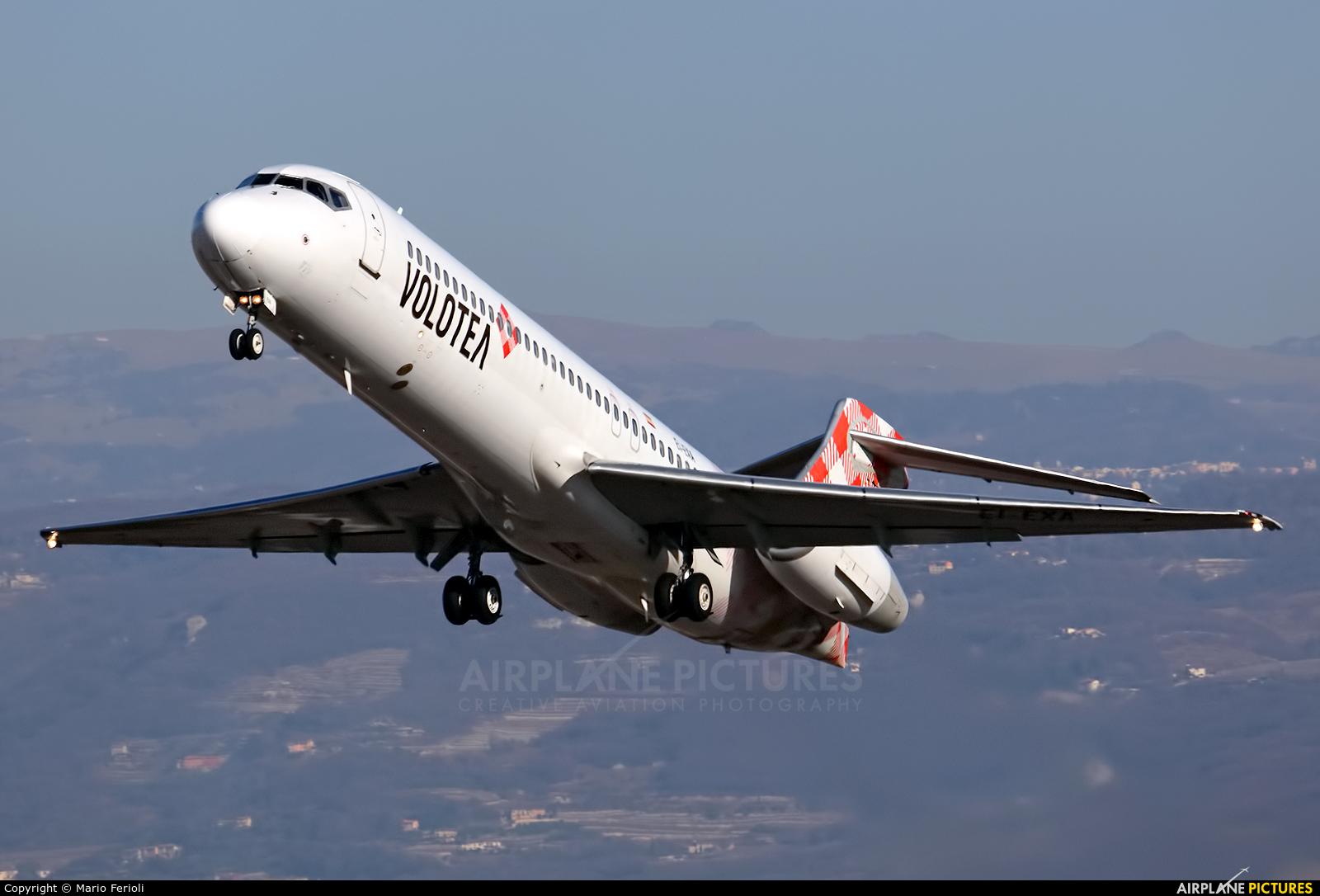Volotea Airlines EI-EXA aircraft at Verona - Villafranca