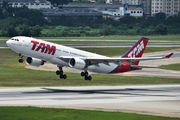 PT-MVQ - TAM Airbus A330-200 aircraft