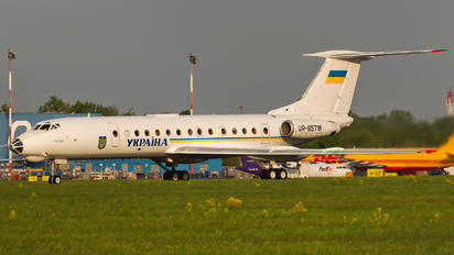 UR-65718 - Ukraine - Government Tupolev Tu-134A