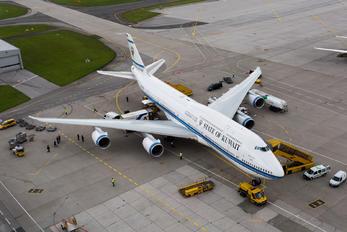 9K-GAA - Kuwait - Government Boeing 747-8