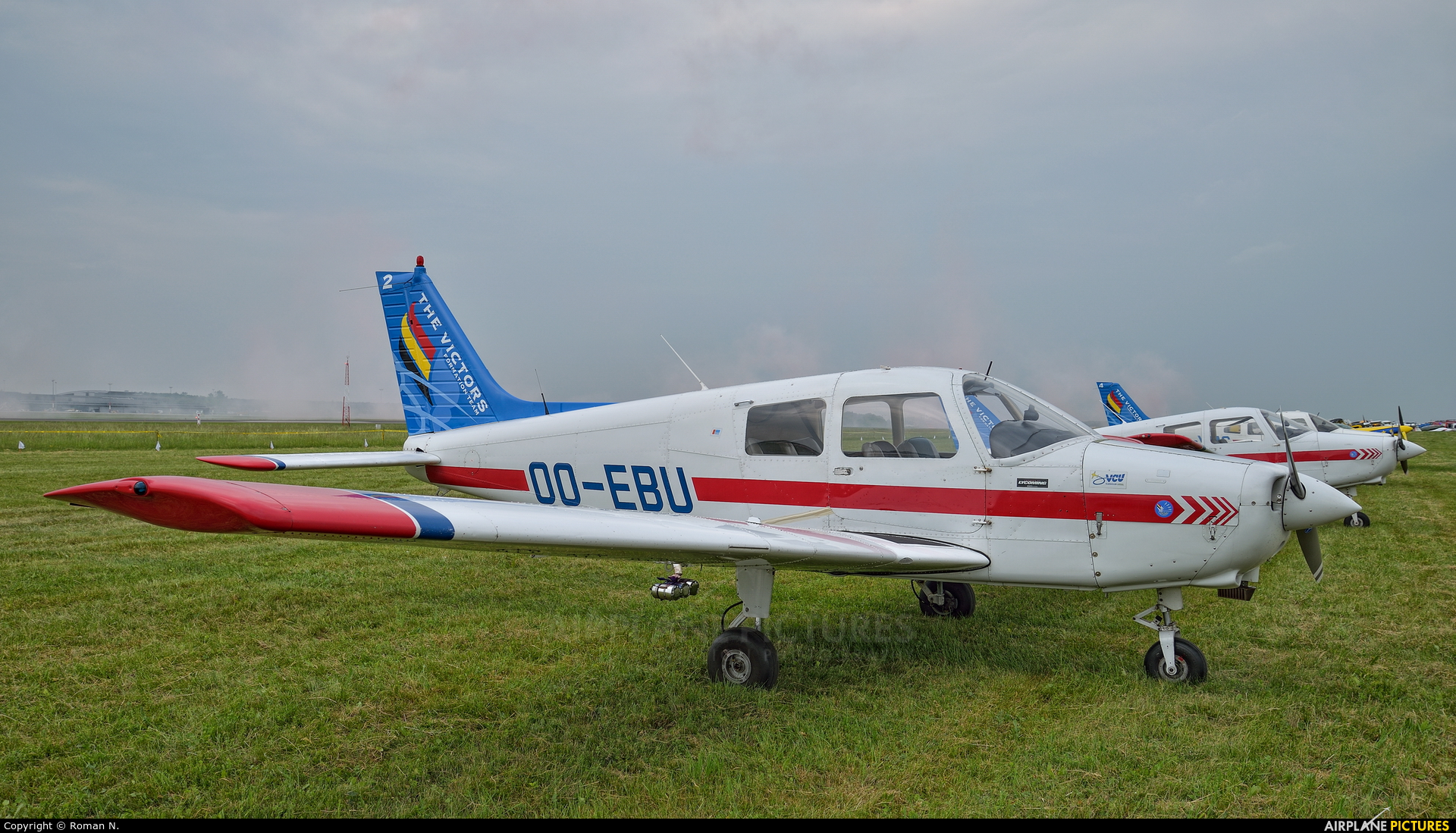Aero Club-Ursel OO-EBU aircraft at Poznań - Ławica