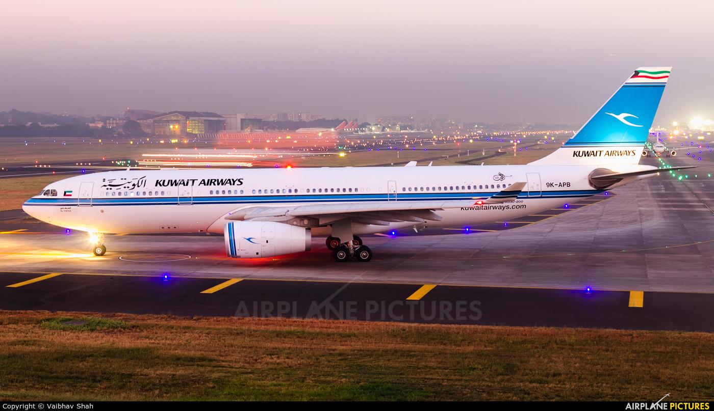 Kuwait Airways 9K-APB aircraft at Mumbai - Chhatrapati Shivaji Intl