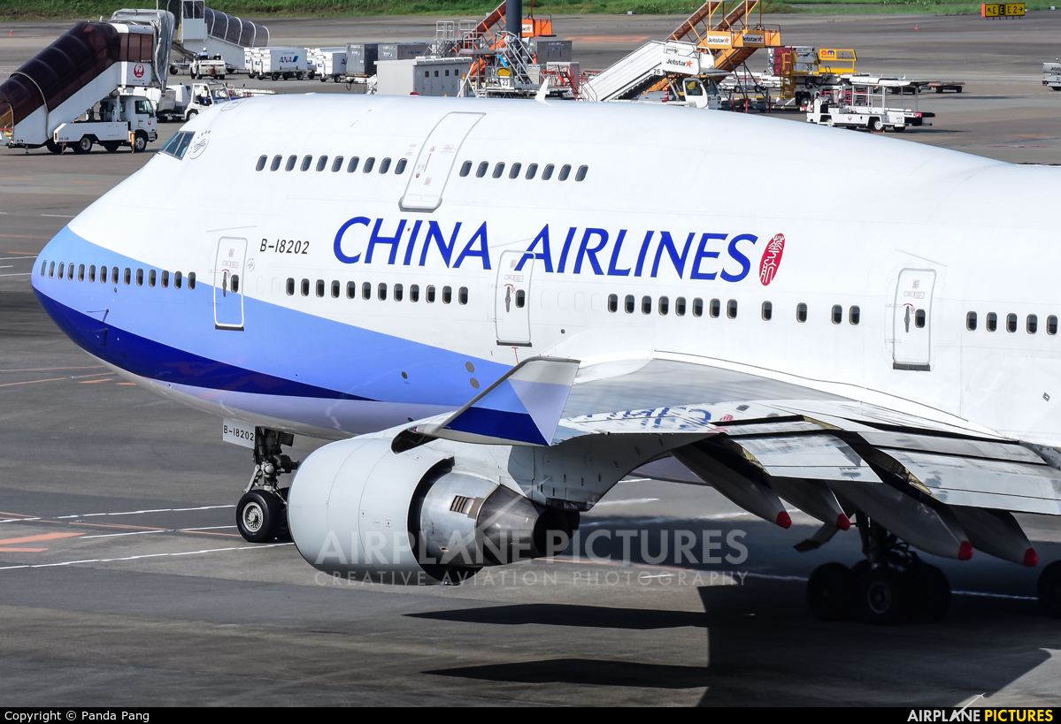 China Airlines B-18202 aircraft at Tokyo - Narita Intl