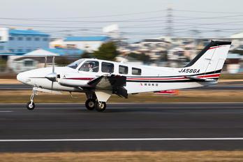 JA58GA - Asahi Airlines Beechcraft 58 Baron