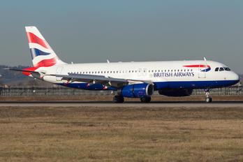 G-GATM - British Airways Airbus A320