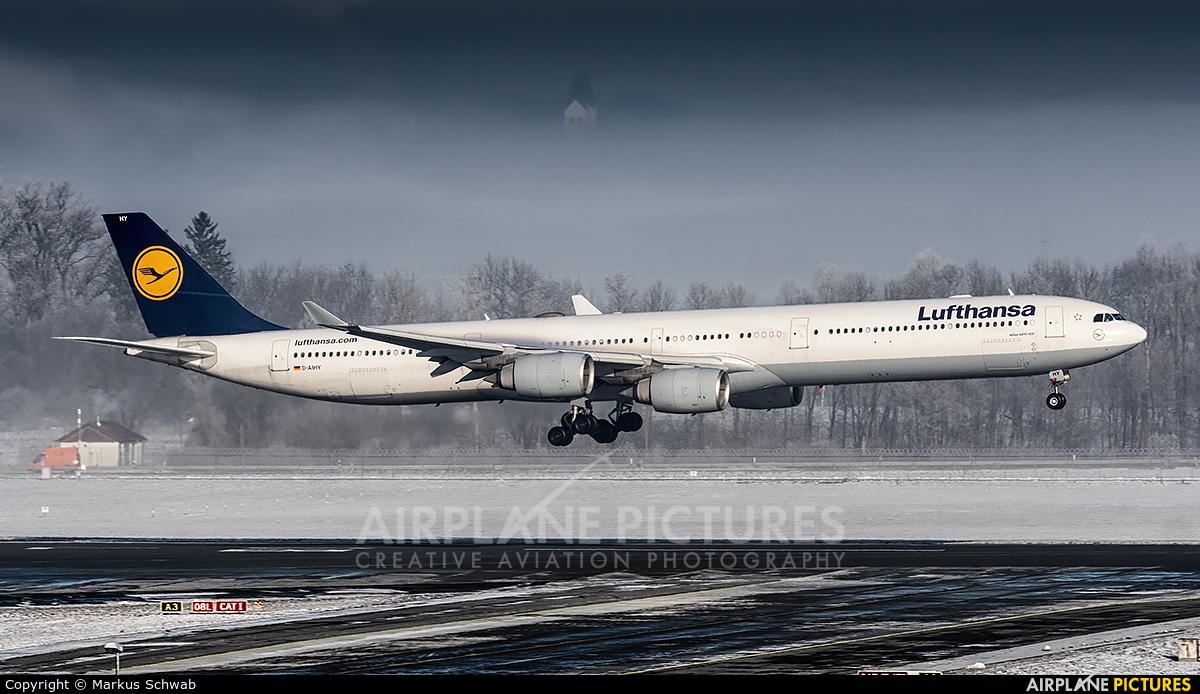 Lufthansa D-AIHY aircraft at Munich