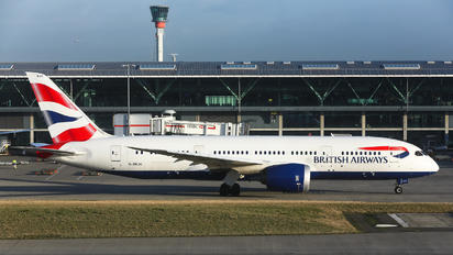 G-ZBJH - British Airways Boeing 787-8 Dreamliner
