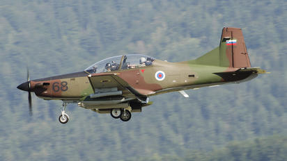 L9-68 - Slovenia - Air Force Pilatus PC-9M