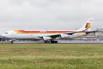 EC-GUQ - Iberia Airbus A340-300
