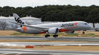 VH-VKL - Jetstar Airways Boeing 787-8 Dreamliner