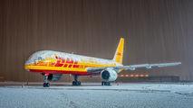 G-BIKB - DHL Cargo Boeing 757-200F aircraft