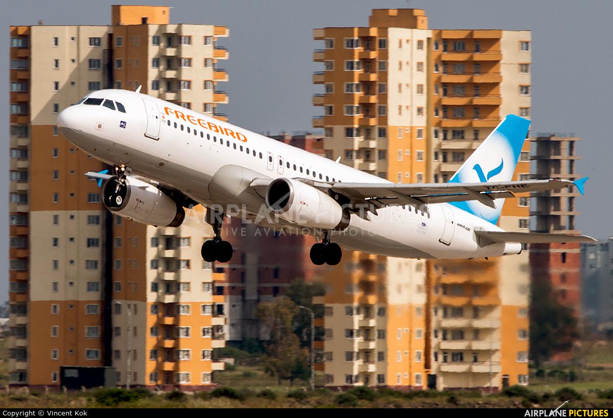 FreeBird Airlines TC-FHE aircraft at Antalya