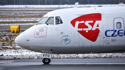 OK-KWO - CSA - Czech Airlines ATR 42 (all models)