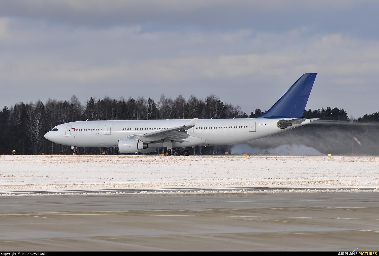 Hi Fly CS-TQW aircraft at Katowice - Pyrzowice
