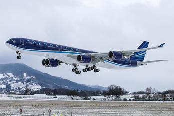 4K-AI08 - Azerbaijan Airlines Airbus A340-600