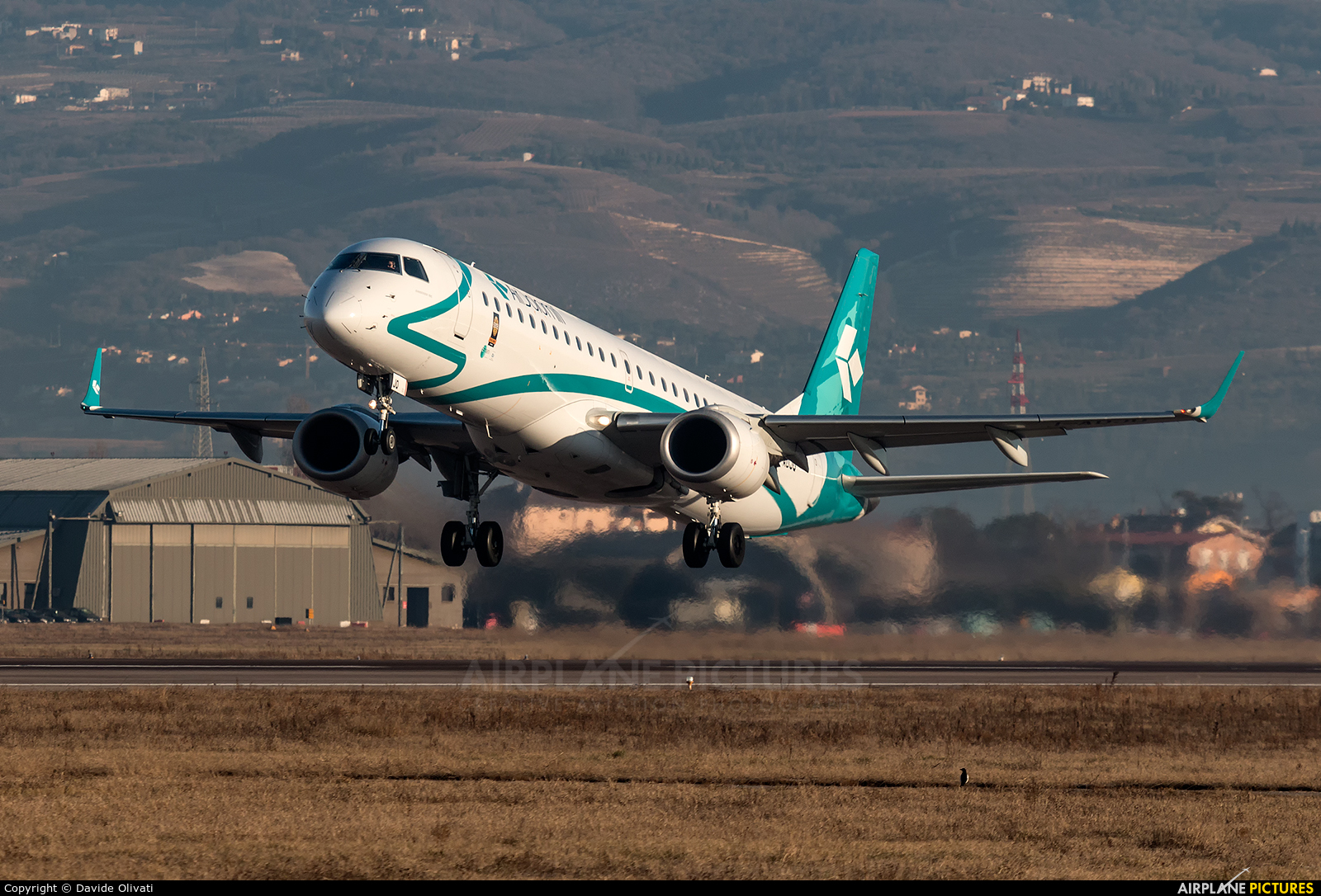 Air Dolomiti I-ADJQ aircraft at Verona - Villafranca