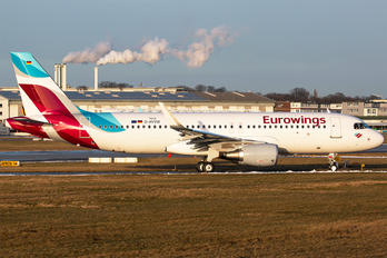 D-AVVW - Eurowings Airbus A320