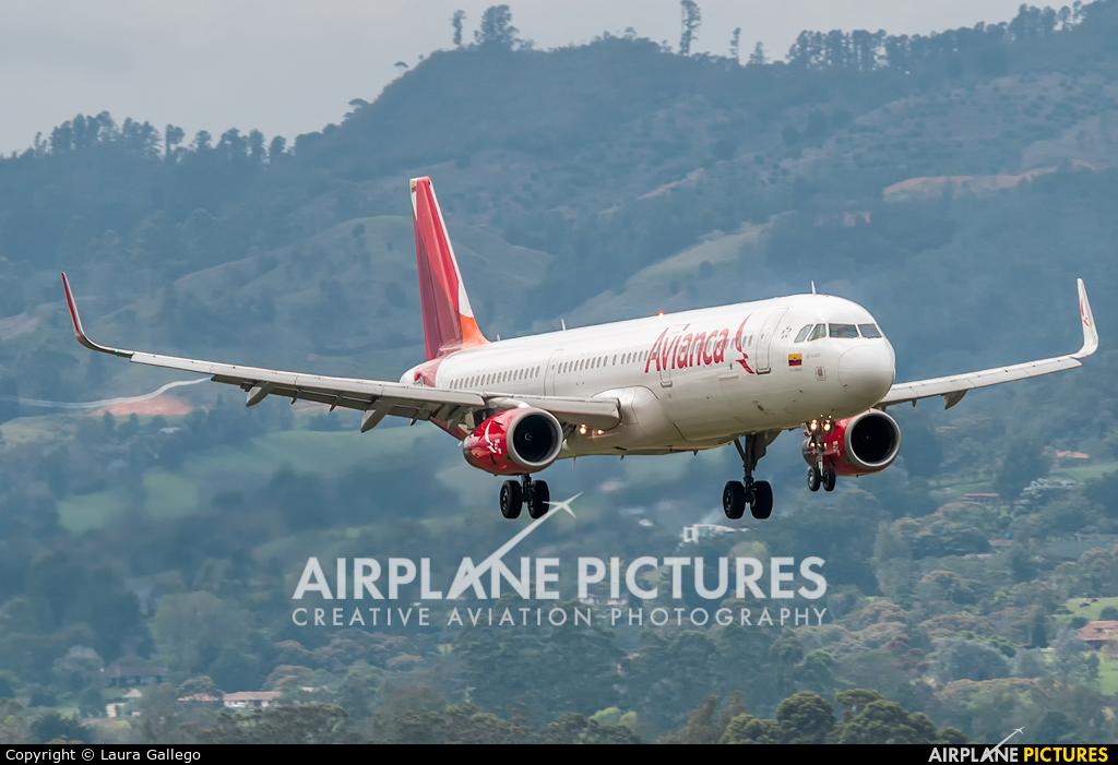 Avianca N696AV aircraft at Medellin - Jose Maria Cordova Intl