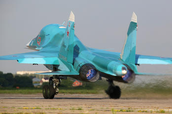 RF-95857 - Russia - Air Force Sukhoi Su-34