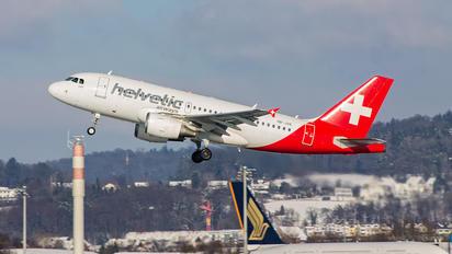 HB-JVK - Helvetic Airways Airbus A319