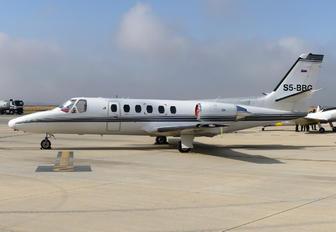 S5-BBG - Gio Business Aviation Cessna 550 Citation II