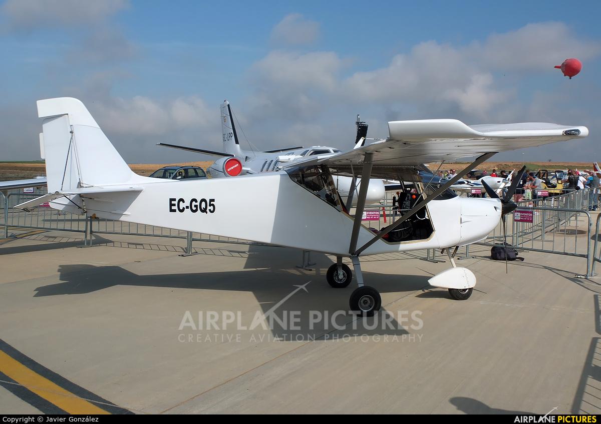 Private EC-GQ5 aircraft at Lleida - Alguaire
