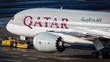 Qatar Airways Boeing 787-8 Dreamliner A7-BCW at Vienna - Schwechat airport